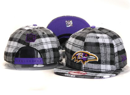 Baltimore Ravens New Type Snapback Hat YS 6R01